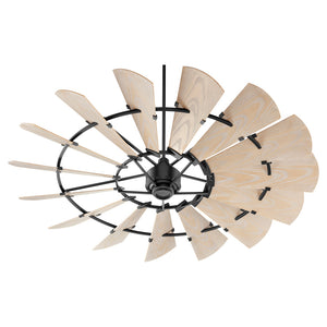Windmill Patio Fan in Noir Finish 197215-69