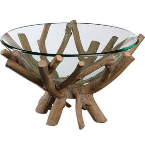 Uttermost Thoro Wood Bowl 19851