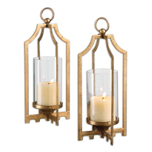 Uttermost Lucy Gold Candleholders S/2 19957