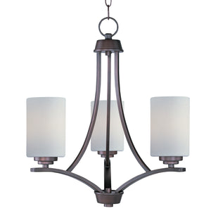 Maxim Lighting 20033SWOI Deven-Mini Chandelier in Oil Rubbed Bronze