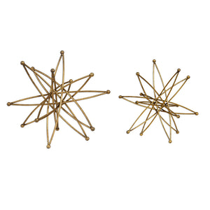 Uttermost Constanza Gold Atom Accessories, S/2 20061