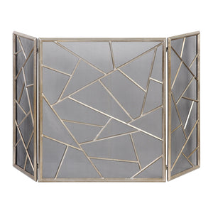 Uttermost Armino Modern Fireplace Screen 20072