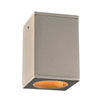 PLC Lighting 2089SL Dominick Collection 1 Light Exterior in Silver Finish