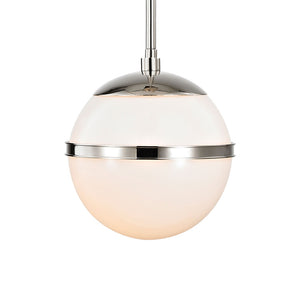 Crystorama 2107-PN Designer Brian Patrick Flynn's Truax 1 Light Polished Nickel Mini Chandelier