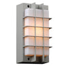 PLC Lighting 2119 SL Lorca Collection 1 Light Exterior in Silver Finish