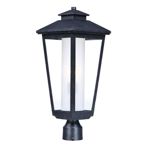Maxim Lighting 2140CLFTAT Aberdeen 1-Light Outdoor Post in Artesian Bronze Finish