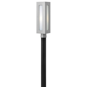 Dorian Outdoor Post Mount by Hinkley 2191TT-LED Titanium