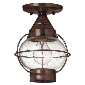Cape Cod Outdoor Ceiling by Hinkley 2203SZ Sienna Bronze