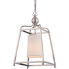 Crystorama 2240-PN Libby Langdon for Crystorama Sylvan 1 Light Polished Nickel Pendant