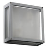 PLC Lighting 2248 SL Mauviel Collection 1 Light Exterior in Silver Finish