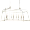 Crystorama 2249-PN_NOSHADE Libby Langdon for Crystorama Sylvan 8 Light Polished Nickel Chandelier
