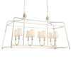 Crystorama 2249-PN Libby Langdon for Crystorama Sylvan 8 Light Polished Nickel Chandelier