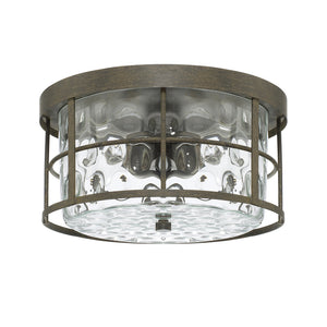 Capital Lighting Bristol 225021FH 2 Light Flush Mount in Farm House