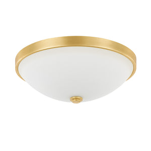 Capital Lighting  2323CG-SW 2 Light Flush Mount in Capital Gold