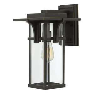 Manhattan Outdoor Wall Mount by Hinkley 2324OZ Oil Rubbed Bronze