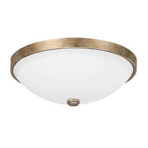 Capital Lighting  2325SA-SW 3 Light Flush Mount in Sable