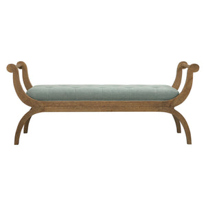 Uttermost Allier Scroll Bench 23467