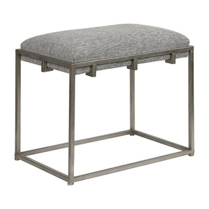 Uttermost Edie Silver Small Bench 23471