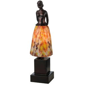 "16""H Silhouette Jayne Swayne Accent Lamp by Meyda 24085"