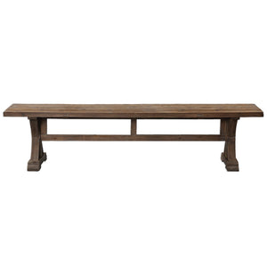 Uttermost  Stratford Salvaged Wood Bench 24558