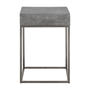 Uttermost Jude Concrete Accent Table 24735