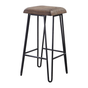 Uttermost Albie Industrial Bar Stool 24870