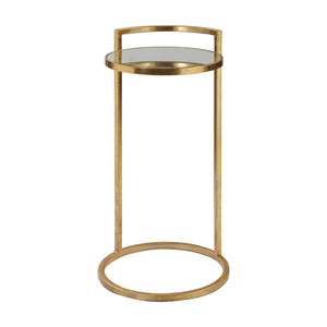 Uttermost Cailin Gold Accent Table 24886