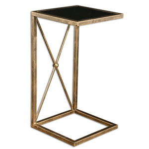 Uttermost Zafina Gold Side Table 25014