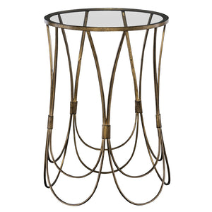 Uttermost Kalindra Gold Accent Table 25056