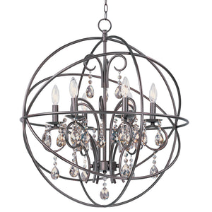 Maxim Lighting 25144OI Orbit-Single Pendant in Oil Rubbed Bronze
