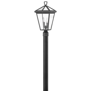 Alford Place Outdoor Post Mount by Hinkley 2561MB-LL Museum Black