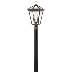 Alford Place Outdoor Post Mount by Hinkley 2561OZ-LL Oil Rubbed Bronze