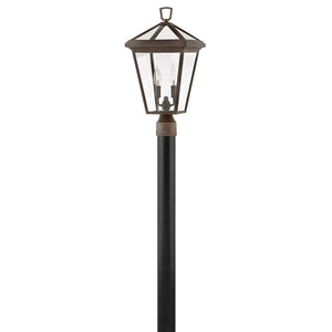 Alford Place Outdoor Post Mount by Hinkley 2561OZ Oil Rubbed Bronze