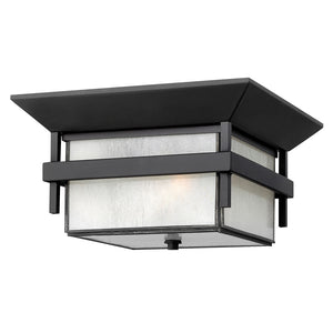 Harbor Outdoor Ceiling by Hinkley 2573SK Satin Black