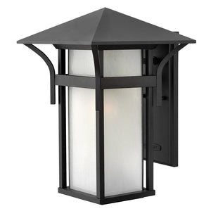 Harbor Outdoor Wall Mount by Hinkley 2575SK Satin Black