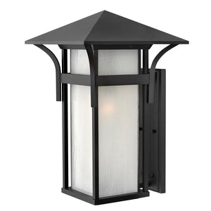 Harbor Outdoor Wall Mount by Hinkley 2579SK Satin Black
