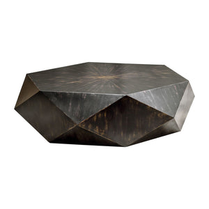 Uttermost Volker Worn Black Coffee Table 25832