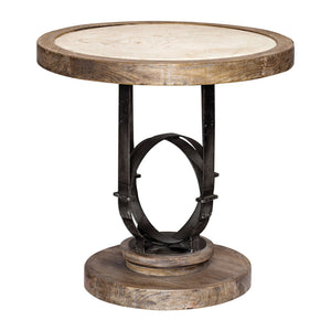 Uttermost Sydney Light Oak Accent Table 25841