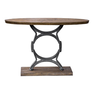 Uttermost Wynn Industrial Console Table 25844