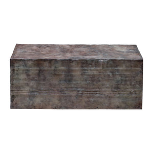 Uttermost Breck Natural Steel Coffee Table 25845