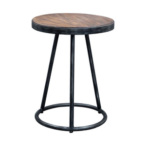 Uttermost Hector Round Accent Table 25889