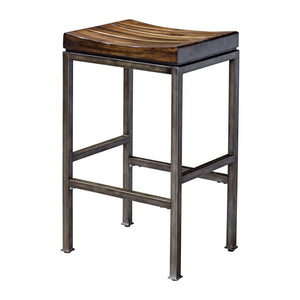Uttermost Beck Industrial Bar Stool 25893