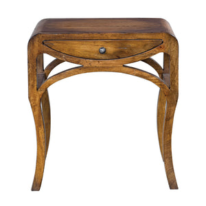 Uttermost Cheryth Pecan End Table 25896