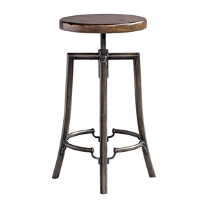 Uttermost Westlyn Industrial Bar Stool 25898