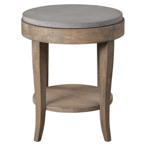 Uttermost Deka Round Accent Table 25909
