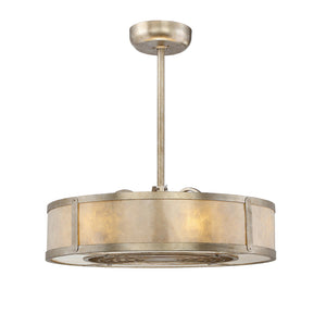 Vireo 6 Light Fan D'lier  in Silver Dust Finish by Savoy House 26-335-FD-272