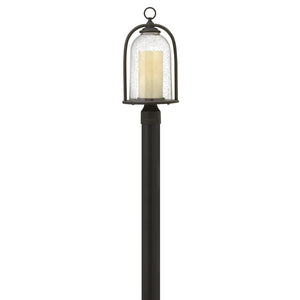Quincy Outdoor Post Mount by Hinkley 2611OZ-LED Oil Rubbed Bronze