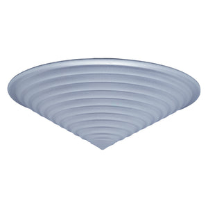 PLC Lighting 2615-50 WH Nuova Collection 1 Light Ceiling in White Finish