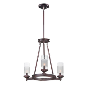 Maxim Lighting 26325CLFTOI Crescendo-Mini Chandelier in Oil Rubbed Bronze