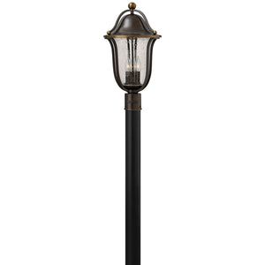 Bolla Outdoor Post Mount by Hinkley 2641OB Olde Bronze